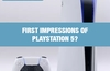 QOTW: First impressions of PlayStation 5?