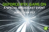 Nvidia announces GeForce RTX: Game On event for CES 2021