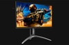 This QHD 2560 x 1440 pixels gaming monitor boasts a 0.5ms response time (MPRT).