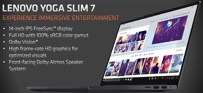 Lenovo Yoga Slim 7 With Amd Ryzen 7 4800u Apu Launched Laptop News Hexus Net