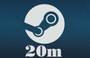 Steam broke its 20m concurrent player record on Sunday