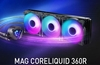 MSI launches its MAG CoreLiquid Series AiO liquid coolers