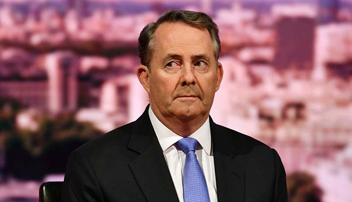 Trade documents stolen from Liam Fox email account