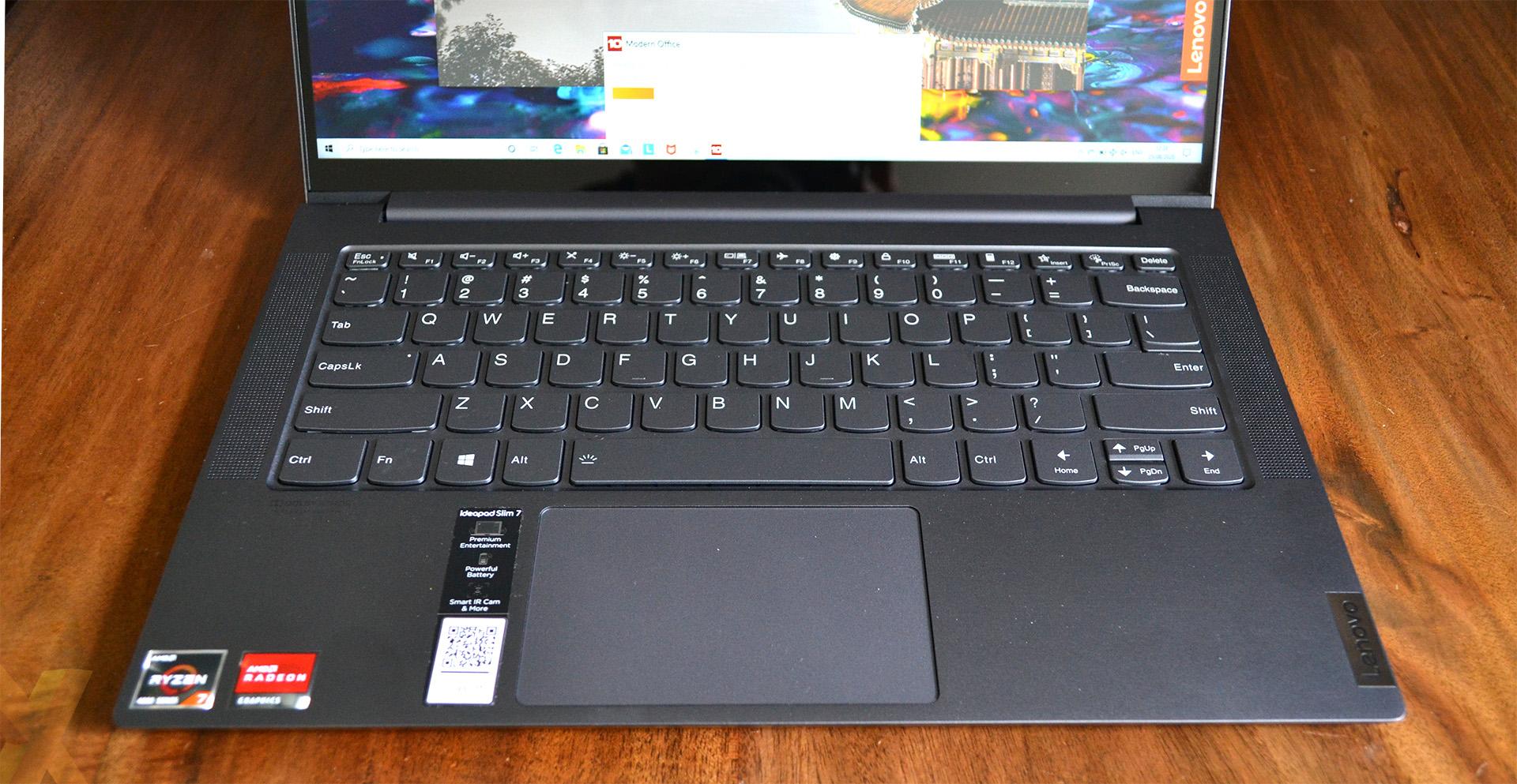 Review Lenovo Yoga Slim 7 Amd Ryzen 7 4800u Laptop Hexus Net
