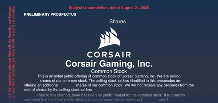 Corsair files for $100 million Nasdaq IPO - General ...