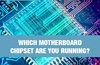 QOTW: Which motherboard chipset are you running?
