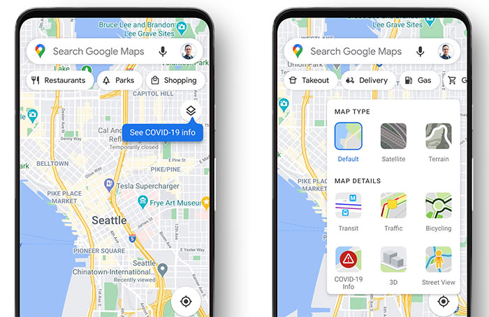 Google Maps Now Includes A Covid 19 Data Layer Android News Hexus Net If you want to review your road trip or just try to puzzle. google maps now includes a covid 19