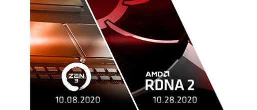 Amd Announces Zen 3 And Radeon Rnda 2 Launch Events Cpu News Hexus Net