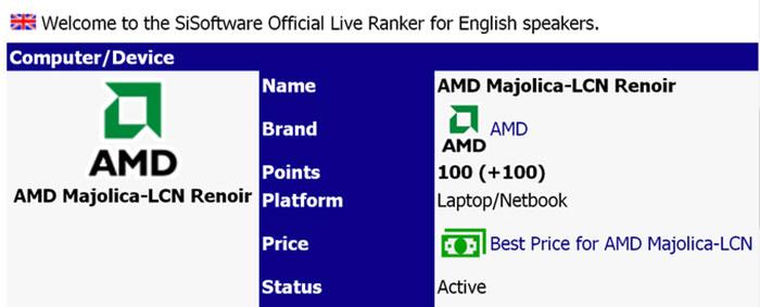 Amd Ryzen 7 5700u Aots Benchmark And Details Surface Cpu News Hexus Net