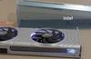 Intel Arc Alchemist graphics card design looks silver and sleek