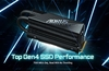 Aorus Gen4 7000s Premium SSD features bulky stacked cooler