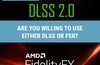 QOTW: Are you willing to use either DLSS or FSR?