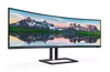 Philips launches the 498P9Z SuperWide curved monitor